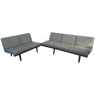 George Nelson Herman Miller Steel Frame Sectional