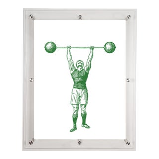 Mitchell Black Home Strongman Art