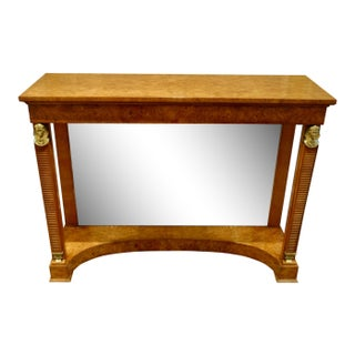 Smith & Watson Regency Style Mirrored Console Table