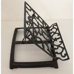 Image of Adjustable Folding Metal Music or Book Stand