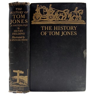 History of Tom Jones Illustrated Book