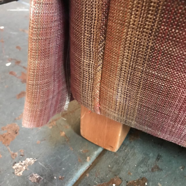 Custom Linen Sofa - Image 8 of 9