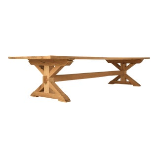 Imported French Oak Farm Table