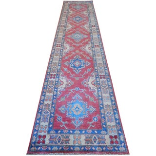 "New Kazak Runner - 2'8"" X 12'"
