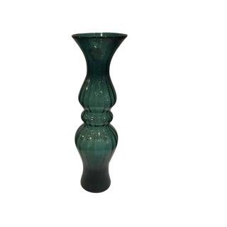 Mid-Century Modern Emerald Vase