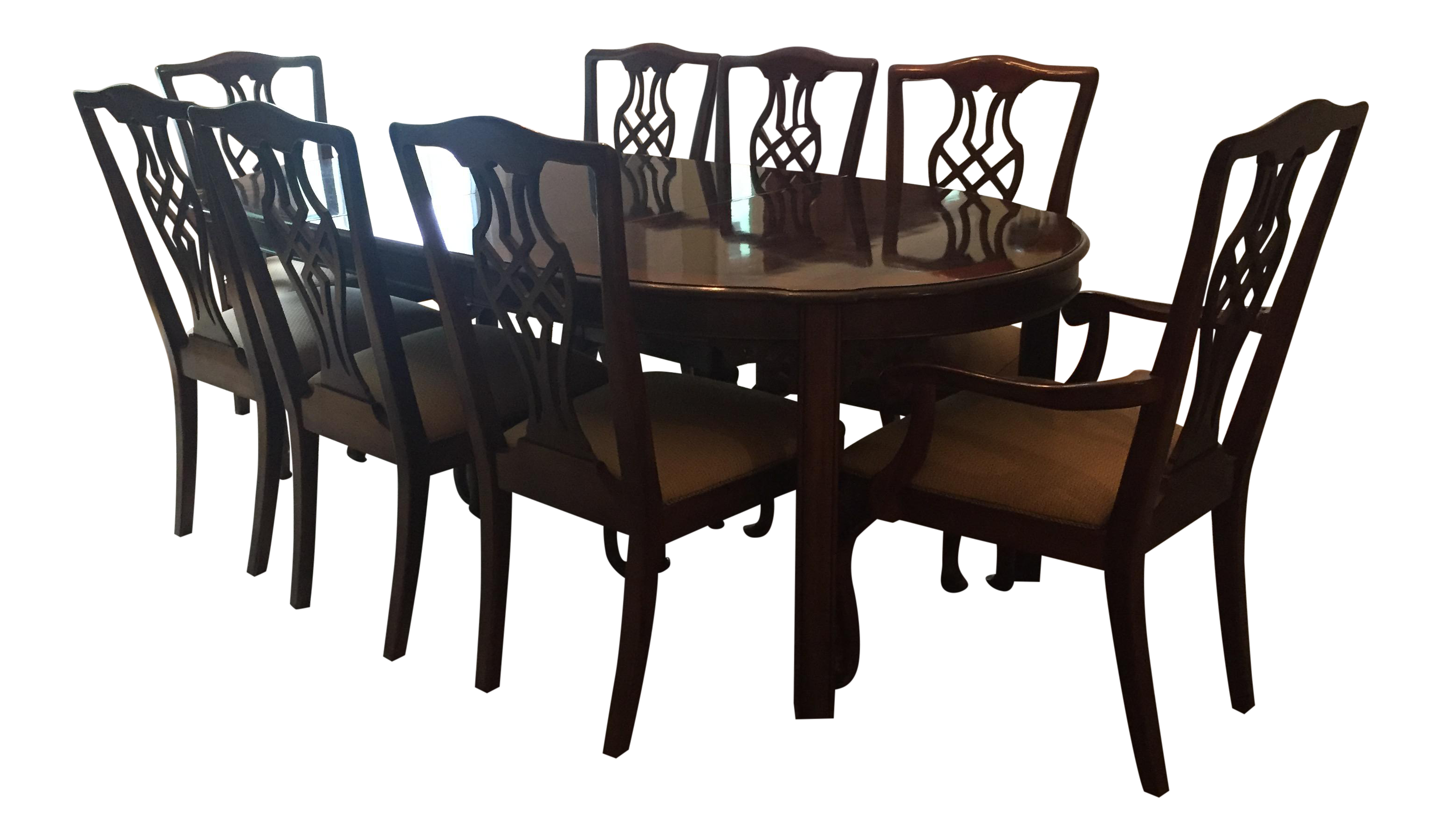 Drexel Heritage Dining Room Table U0026 Chairs   Set ...