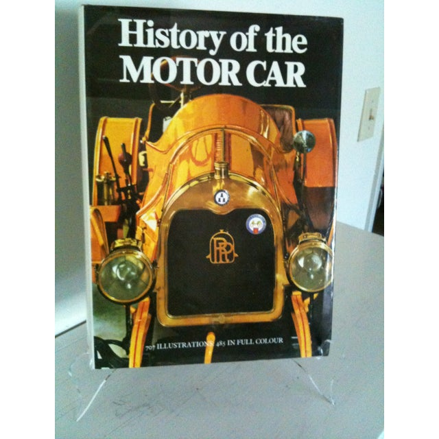History Of The Motor Car Vintage Book Chairish
