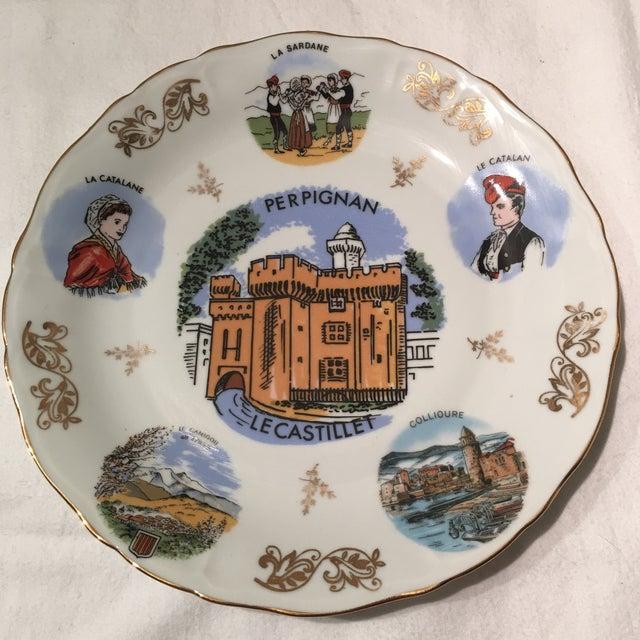 Image of Vintage Limoges Veritable Porcelain Plate
