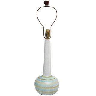 Gordon and Jane Martz Colorful Stoneware Table Lamp