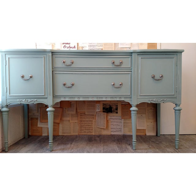 Refinished Vintage French Provincial Buffet - Image 3 of 6