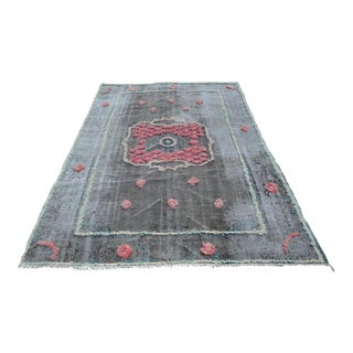 Turkish Oushak Rug- 5′10″ × 8′4″