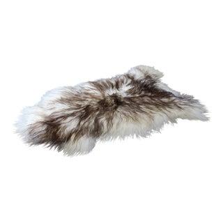 Genuine Icelandic Sheepskin Shade of Brown Rug Throw