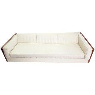 Mid Century Milo Baughman Style Sofa