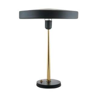 Louis Kalff 1956 Black UFO Lamp