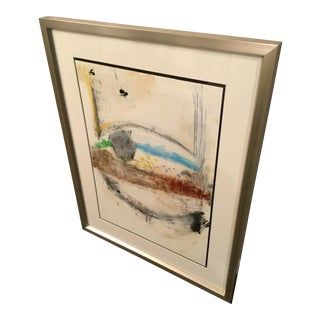 'Abstract Untitled II' Framed Print by Michel Keck