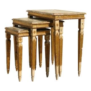 Italian Nesting Tables - Set of 3