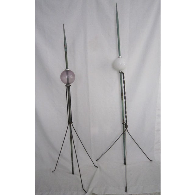 Lightning Rods - A Pair - Image 2 of 6
