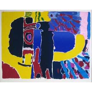 Bright Abstracted Figures, 1975
