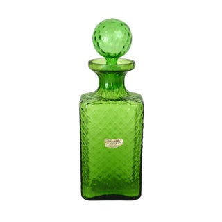 Vintage Italian Quilted Cocktail Decanter