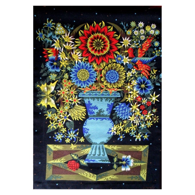 Aubusson Mid-Century Tapestry by Alain Cornic - Image 1 of 8