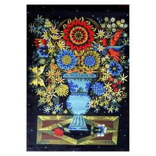 Aubusson Mid-Century Tapestry by Alain Cornic