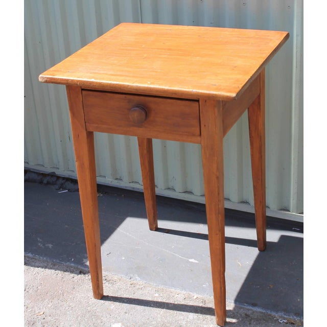 Image of 19th Country Side Table from Pennsylvania