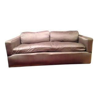Down Filled Twin Size Sleeper Sofa