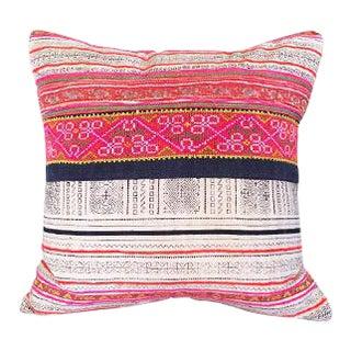 Vintage Embroidered Thai Pillow