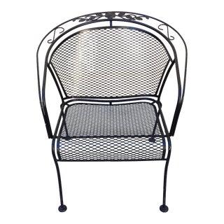 Classic Metal Patio Armchair