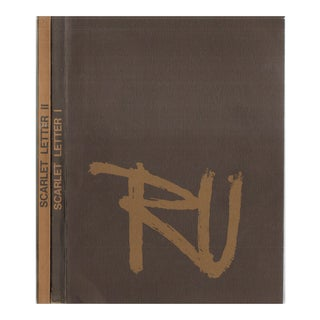 Rutgers College Vintage Yearbooks - A Pair