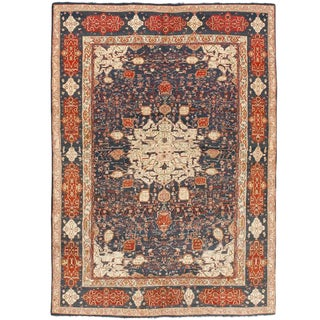Extremely Fine Antique Indian Agra Carpet