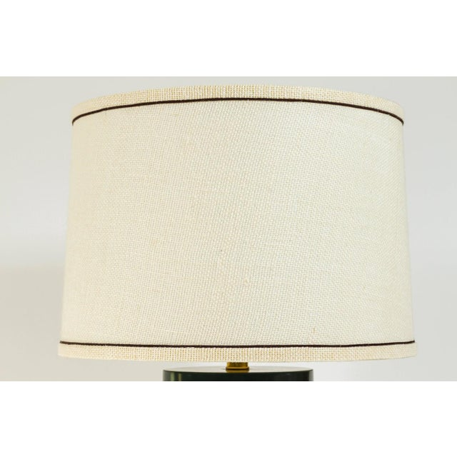 Martin and Brockett Modern Matte Lacquer Lamp - Image 3 of 5
