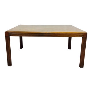 Vintage Mid-Century Parsons Dining Table
