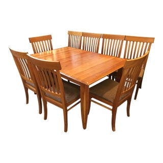 Italian Arhaus Solid Cherry Dining Set