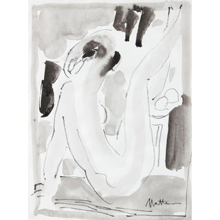 1995 Nude Figure Drawing by Rip Matteson