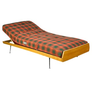 1950s German Daybed with Slant Legs