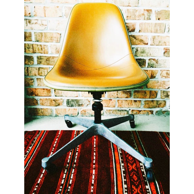 Herman Miller Eames Upholstered Fiberglass Shell Chair - Vintage - Image 2 of 8
