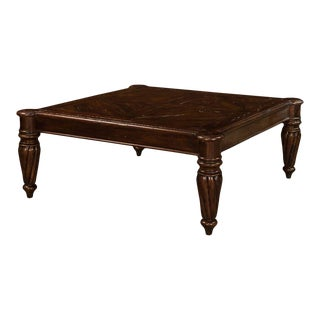 Sarreid Ltd Chanterac Square Coffee Table