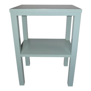 Tiffany Blue Side Table