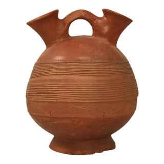 French Pottery Vessel or Jug