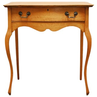 French Provincial Louis XV Style Ladies Writing Table