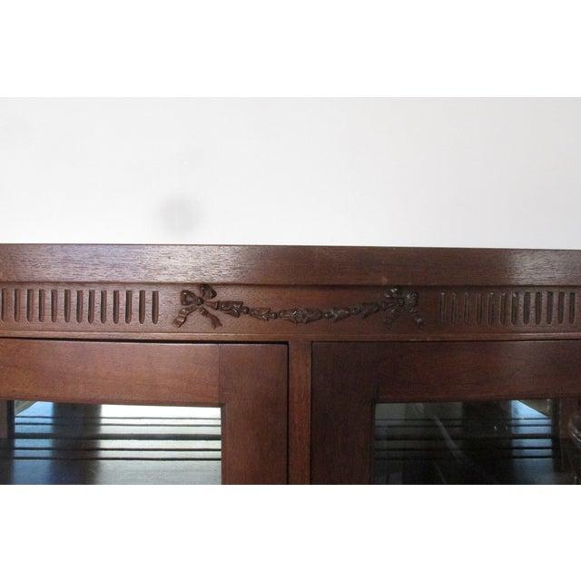Mahogany Display Cabinet - Image 5 of 6