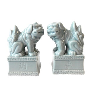 Temple Foo Dogs - A Pair