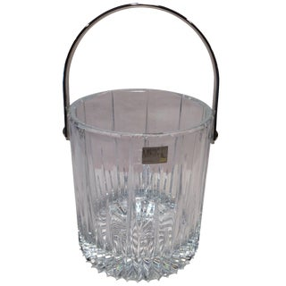 Mikasa Slovenia Leaded Crystal Ice Bucket