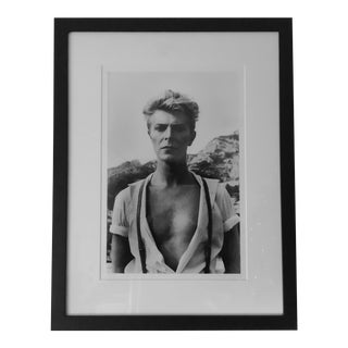 Helmut Newton David Bowie Portrait