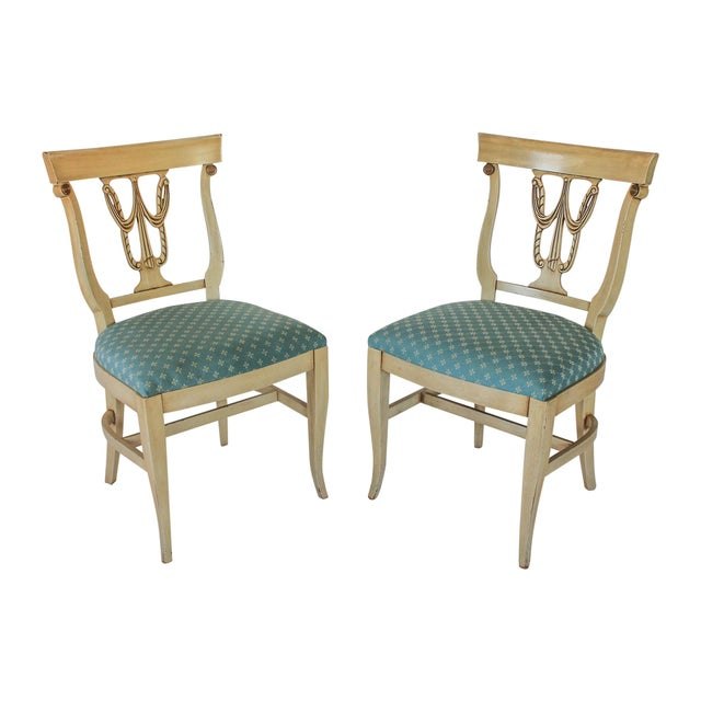 Neoclassical Dining Chairs S/4 - Image 10 of 10