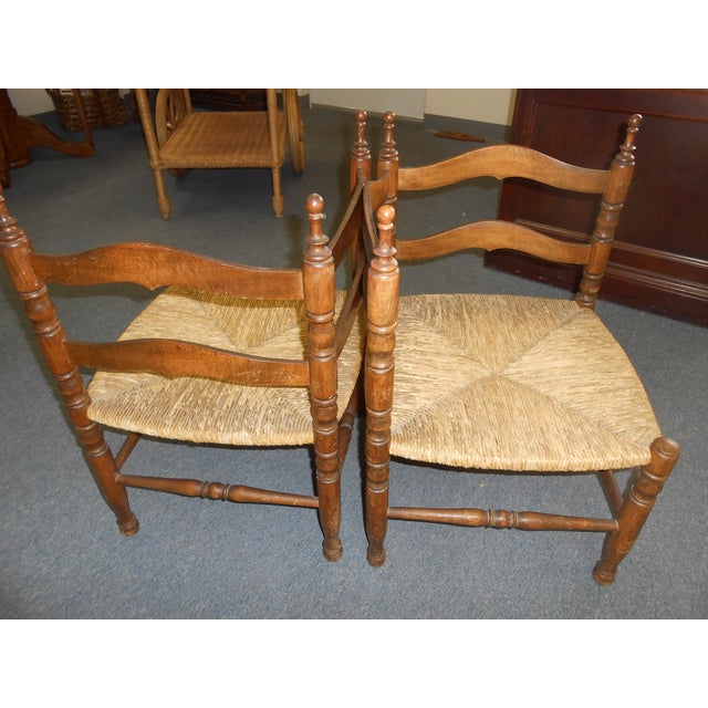 Corner Chairs - A Pair - Image 9 of 9