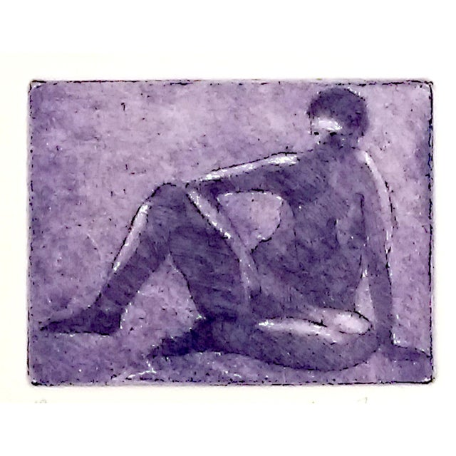 Rachel Foreman Monochrome Nude Etchings - Set of 3 - Image 10 of 11