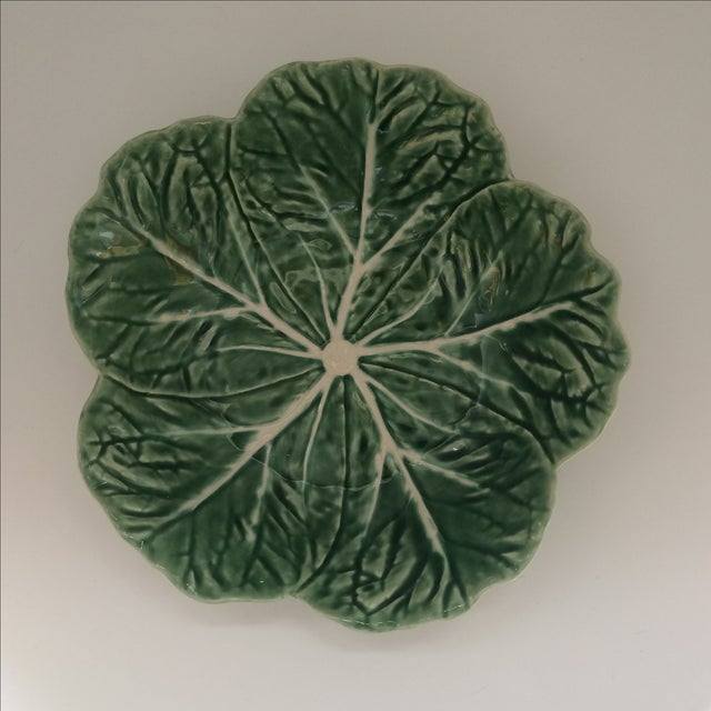 Green Lettuce Ware Bowl - Image 2 of 6