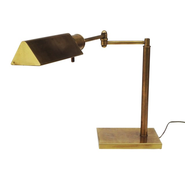 Frederick Cooper Classic Brass Desk Lamp - Image 10 of 10